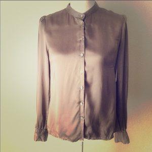 100% Silk blouse H&M